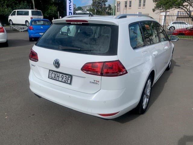2015 Volkswagen Golf 103TSI Highline 7 MY15 Pure White