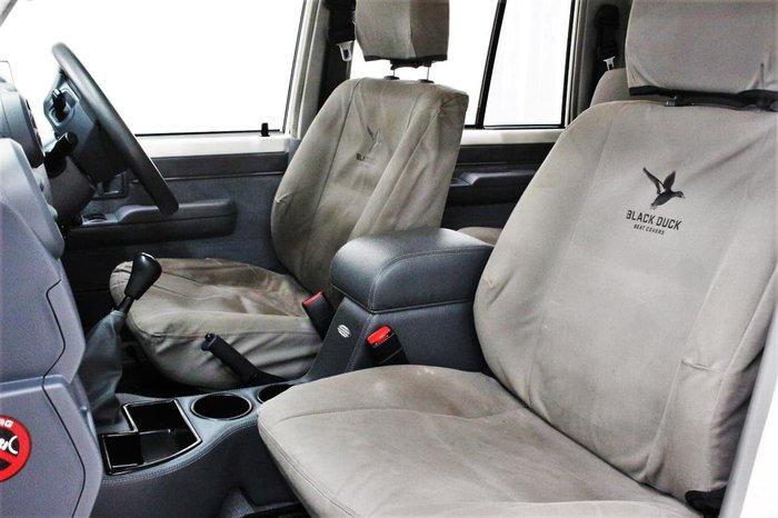 2018 Toyota Landcruiser GXL VDJ79R 4X4 Dual Range White