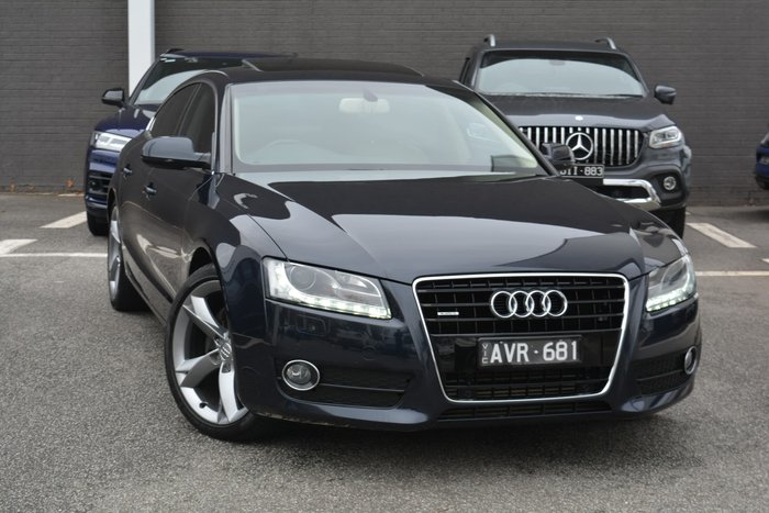 2011 Audi A5 8T MY11 Four Wheel Drive Moonlight Blue