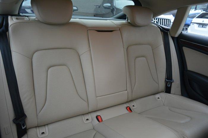 2011 Audi A5 8T MY11 Four Wheel Drive Moonlight Blue