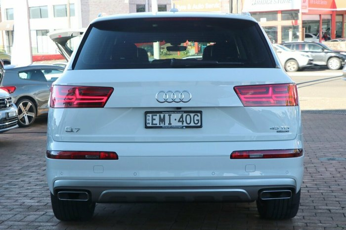 2018 Audi Q7 45 TDI 4M MY19 Four Wheel Drive WHITE