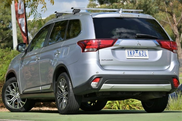 2017 Mitsubishi Outlander LS ZK MY17 Cool Silver