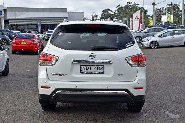 2015 Nissan Pathfinder ST R52 MY15 Ivory Pearl