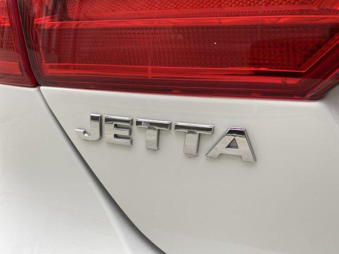 2012 Volkswagen Jetta 118TSI 1B MY12.5 White