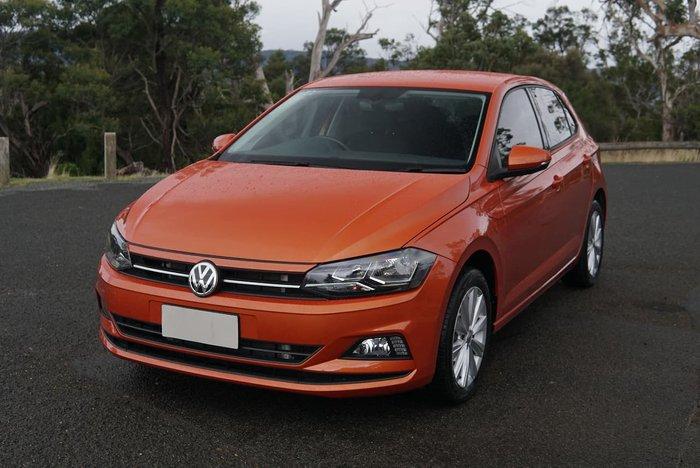 2018 Volkswagen Polo 85TSI Comfortline AW MY18 Orange