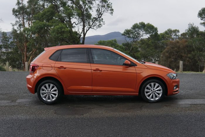 2018 Volkswagen Polo 85TSI Comfortline AW MY18 Orange