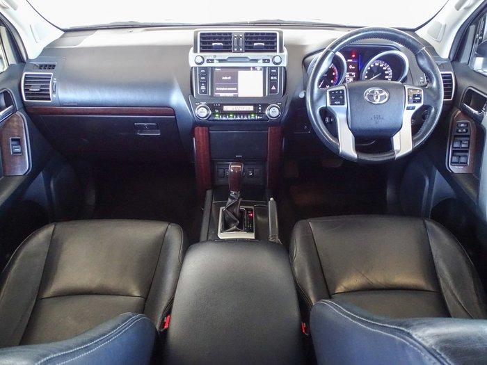 2014 Toyota Landcruiser Prado VX KDJ150R MY14 4X4 Dual Range Crystal Pearl