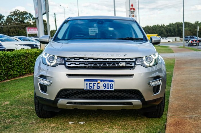 2017 Land Rover Discovery Sport TD4 180 HSE Luxury L550 MY17 4X4 Constant Gold