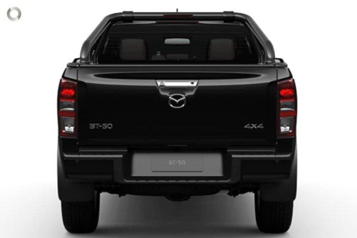 2021 Mazda BT-50 Thunder TF 4X4 Dual Range True Black