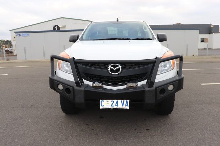2012 Mazda BT-50 XT UP 4X4 Dual Range White