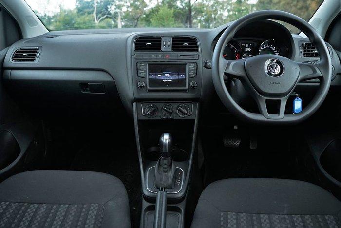 2017 Volkswagen Polo 66TSI Urban 6R MY17.5 Silver