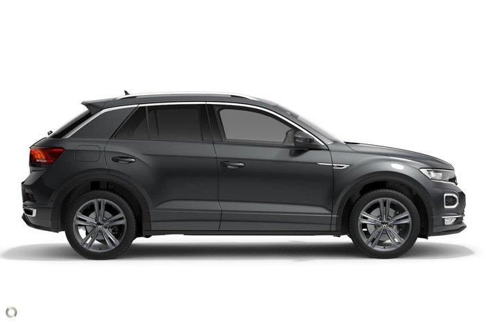 2021 Volkswagen T-Roc 140TSI Sport A1 MY21 Four Wheel Drive Grey