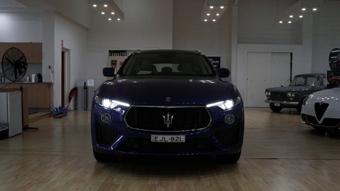 2020 Maserati Levante GTS M161 MY20 4X4 On Demand Blu Emozione
