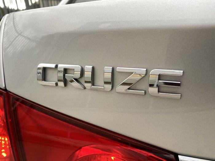2015 Holden Cruze Equipe JH Series II MY15 Silver