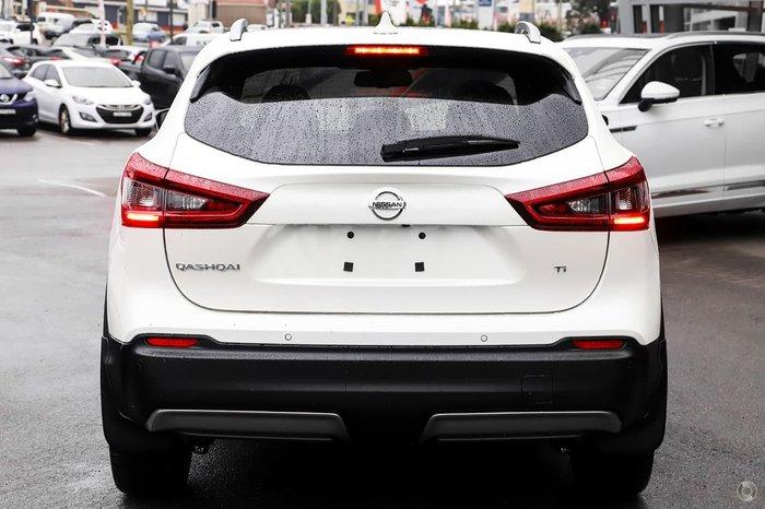 2020 Nissan QASHQAI Ti J11 Series 3 MY20 Ivory Pearl