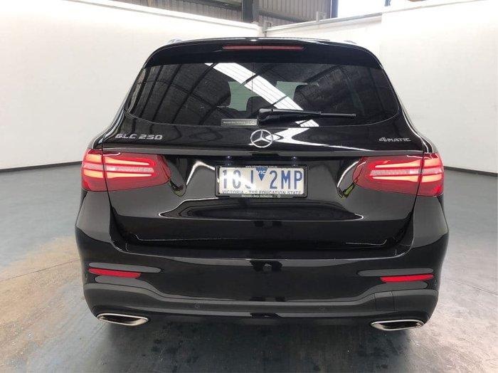 2019 Mercedes-Benz GLC-Class GLC250 X253 Four Wheel Drive Black