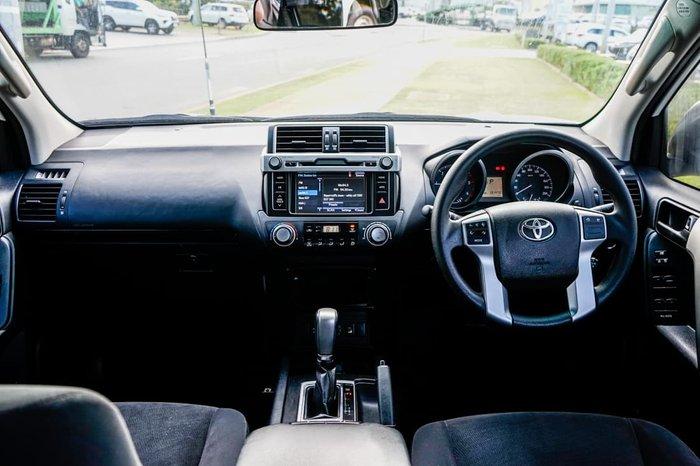 2016 Toyota Landcruiser Prado GX GDJ150R 4X4 Dual Range Glacier White