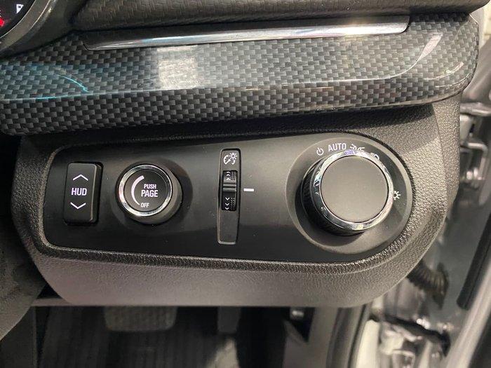 2016 Holden Commodore SV6 Black VF Series II MY16 Silver