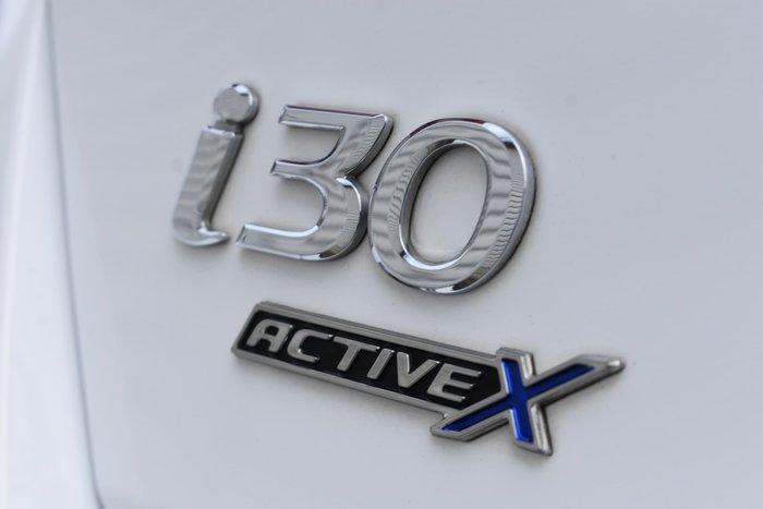 2015 Hyundai i30 Active X GD4 Series II MY16 Polar White