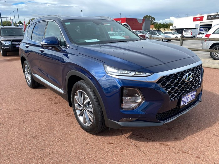 2019 Hyundai Santa Fe Elite TM.2 MY20 4X4 On Demand Stormy Sea