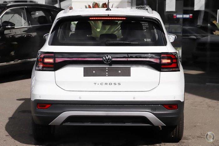 2021 Volkswagen T-Cross 85TSI Style C1 MY21 Pure White