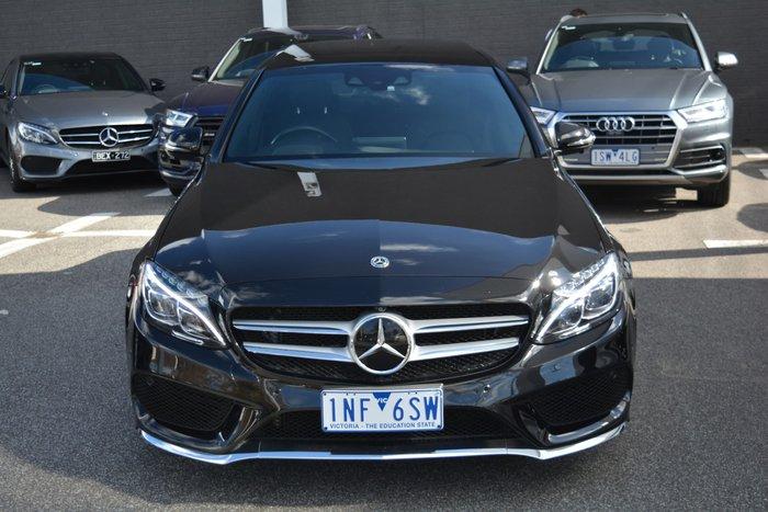 2018 Mercedes-Benz C-Class C300 W205 Black