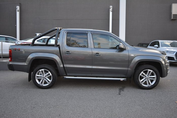 2018 Volkswagen Amarok TDI420 Core Plus 2H MY18 4X4 Constant Indium Grey