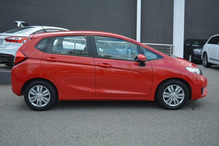 2016 Honda Jazz VTi GF MY16 Rally Red