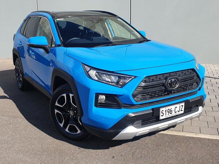2019 Toyota RAV4 Edge AXAA54R AWD Eclectic Blue