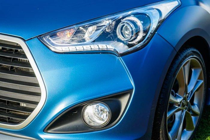 2015 Hyundai Veloster SR Turbo FS4 Series II Blue Sprinter