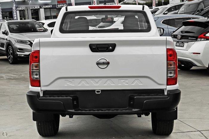 2021 Nissan Navara SL D23 4X4 Dual Range Solid White