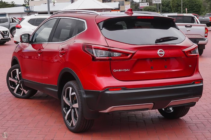 2021 Nissan QASHQAI Ti J11 Series 3 MY20 Magnetic Red