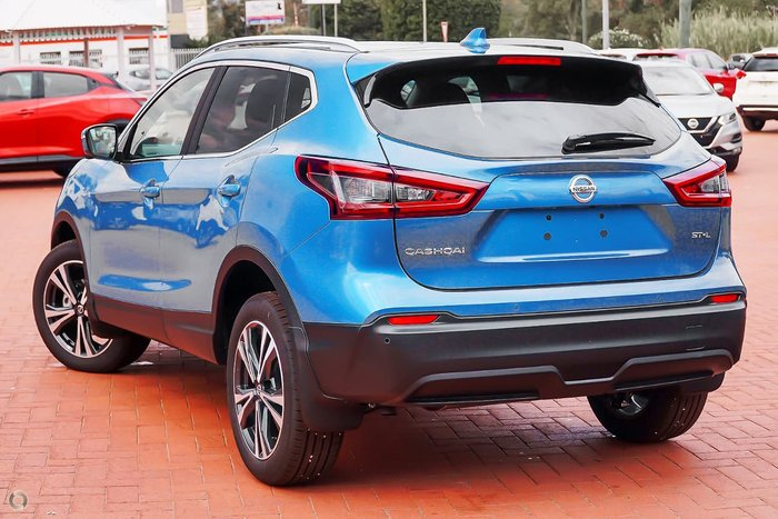 2021 Nissan QASHQAI ST-L J11 Series 3 MY20 Vivid Blue