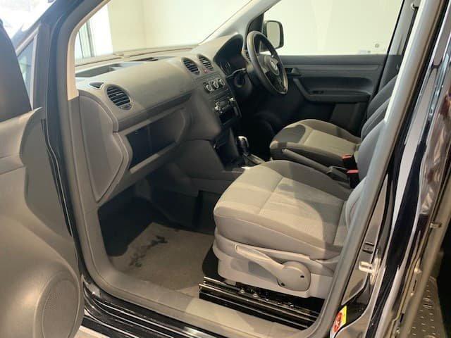 2013 Volkswagen Caddy TDI250 BlueMOTION 2KN MY14 Black Berry