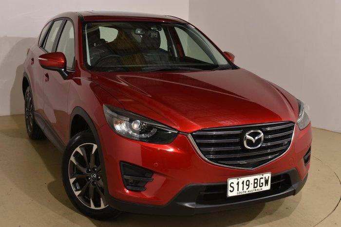 2015 Mazda CX-5 Grand Touring KE Series 2 AWD Soul Red