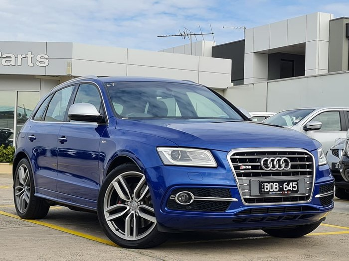 2015 Audi SQ5 TDI 8R MY16 Four Wheel Drive Blue