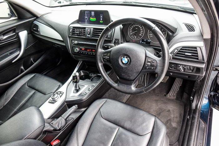 2013 BMW 1 Series 118i F20 Blue