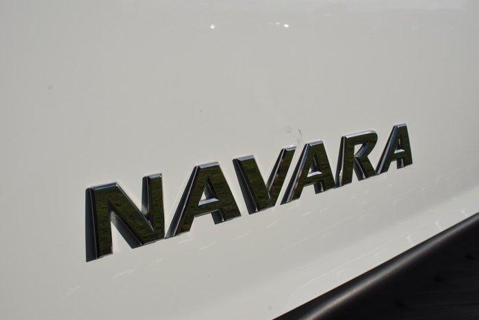 2017 Nissan Navara ST D23 Series 2 4X4 Dual Range Polar White