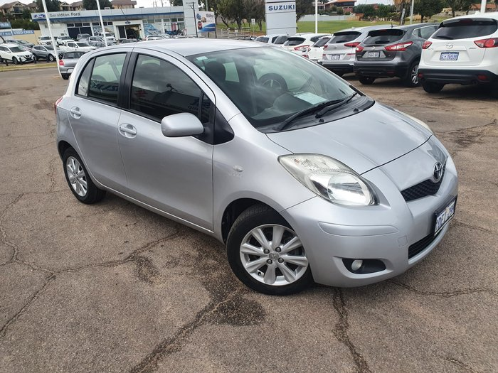 2009 Toyota Yaris Edge NCP90R MY09 Quick Silver