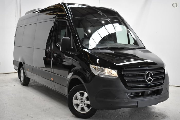 2021 Mercedes-Benz Sprinter 416CDI VS30 Black