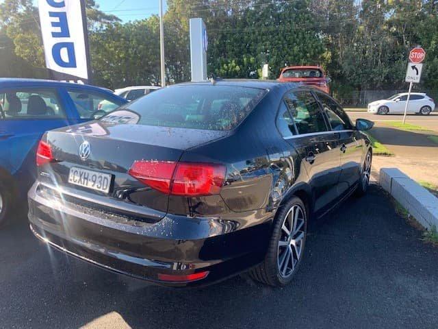 2015 Volkswagen Jetta 155TSI Highline Sport 1B MY15 Deep Black