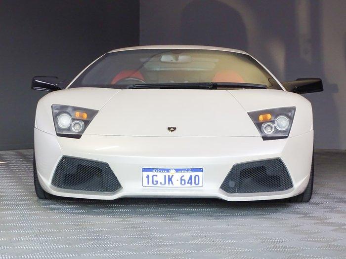 2006 Lamborghini Murcielago LP640 MY07 AWD Clear White