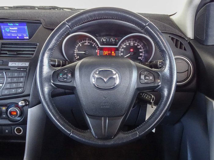 2012 Mazda BT-50 XTR Hi-Rider UP Highlight Silver
