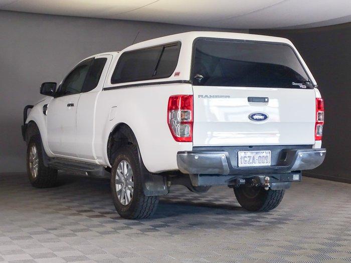 2015 Ford Ranger XLT PX MkII 4X4 Dual Range Cool White