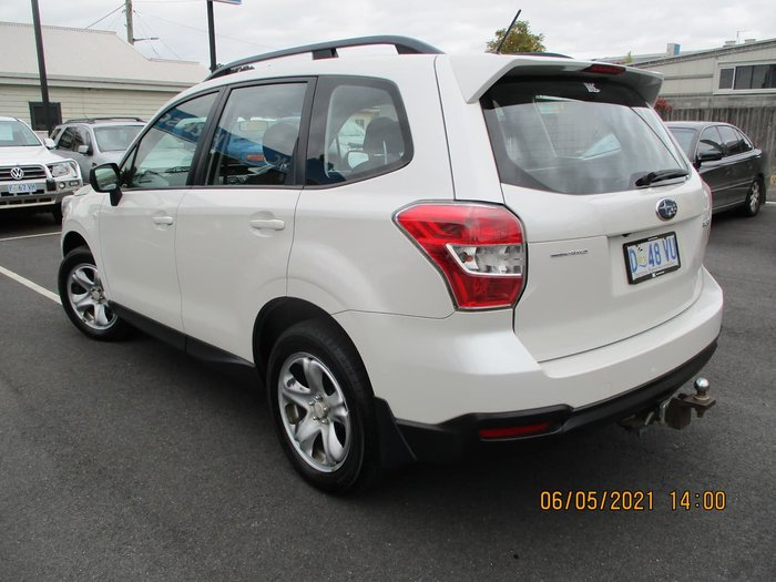 2014 Subaru Forester 2.5i S4 MY14 AWD White