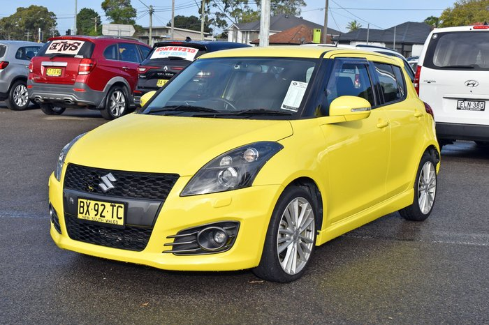 2013 Suzuki Swift Sport FZ MY14 Champion Yellow