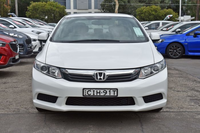 2012 Honda Civic VTi-L 9th Gen Taffeta White
