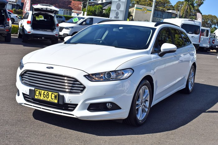 2017 Ford Mondeo Ambiente MD MY18.25 Frozen White