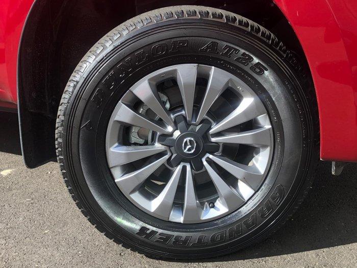 2020 Mazda BT-50 XT TF 4X4 Dual Range Red Volcano