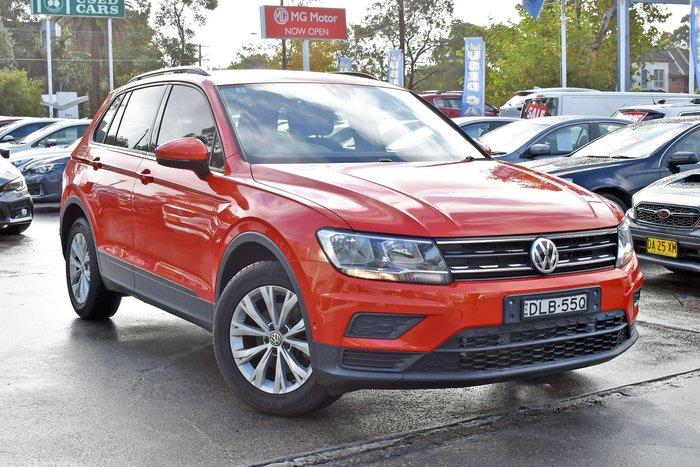 2016 Volkswagen Tiguan 110TSI Trendline 5N MY17 Orange